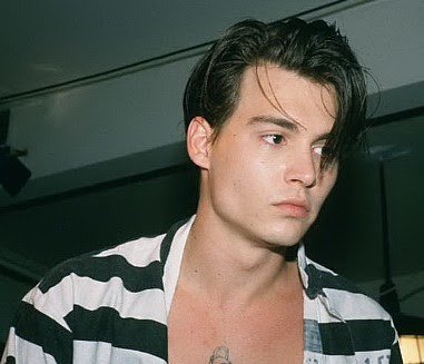johnny depp hairstyle. young johnny depp wallpaper