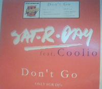 Sat-R-Day - Don`t Go (Promo VLS) (2003)