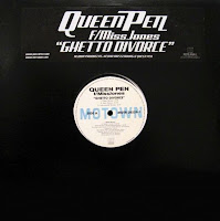 Queen Pen feat MissJones - Ghetto Divorce (Promo VLS) (2001)