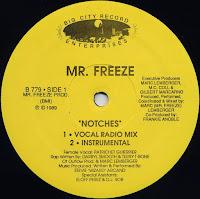 Mr. Freeze - Notches (VLS) (1989)