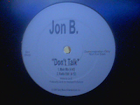 Jon B. - Don't Talk (Promo VLS) (2001)