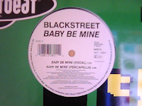 Blackstreet Featuring Teddy Riley - Baby Be Mine (VLS) (1993)