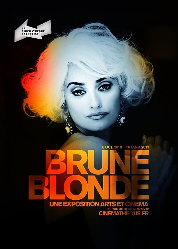 affiche brune Blonde - inspiration graphique