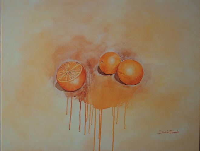 Naranjas tecnica mixta