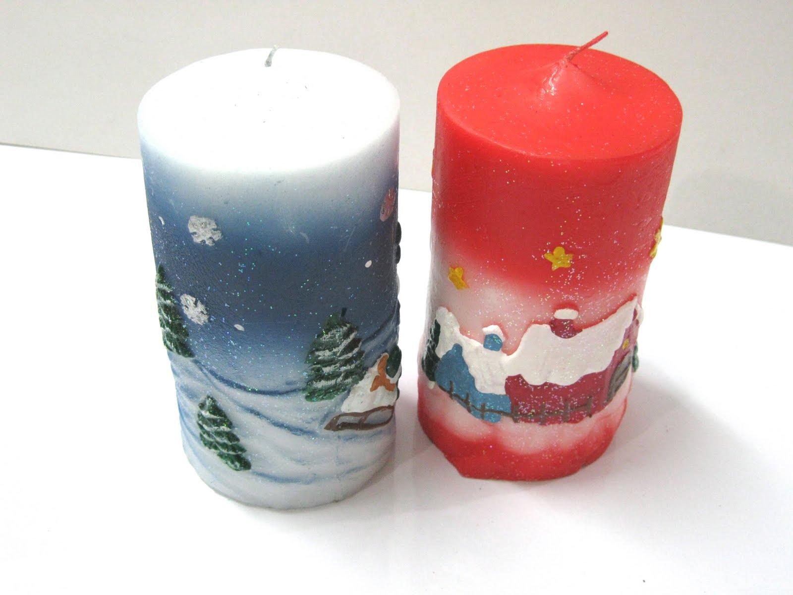 Velas navide as talladas imagui for Velas navidenas