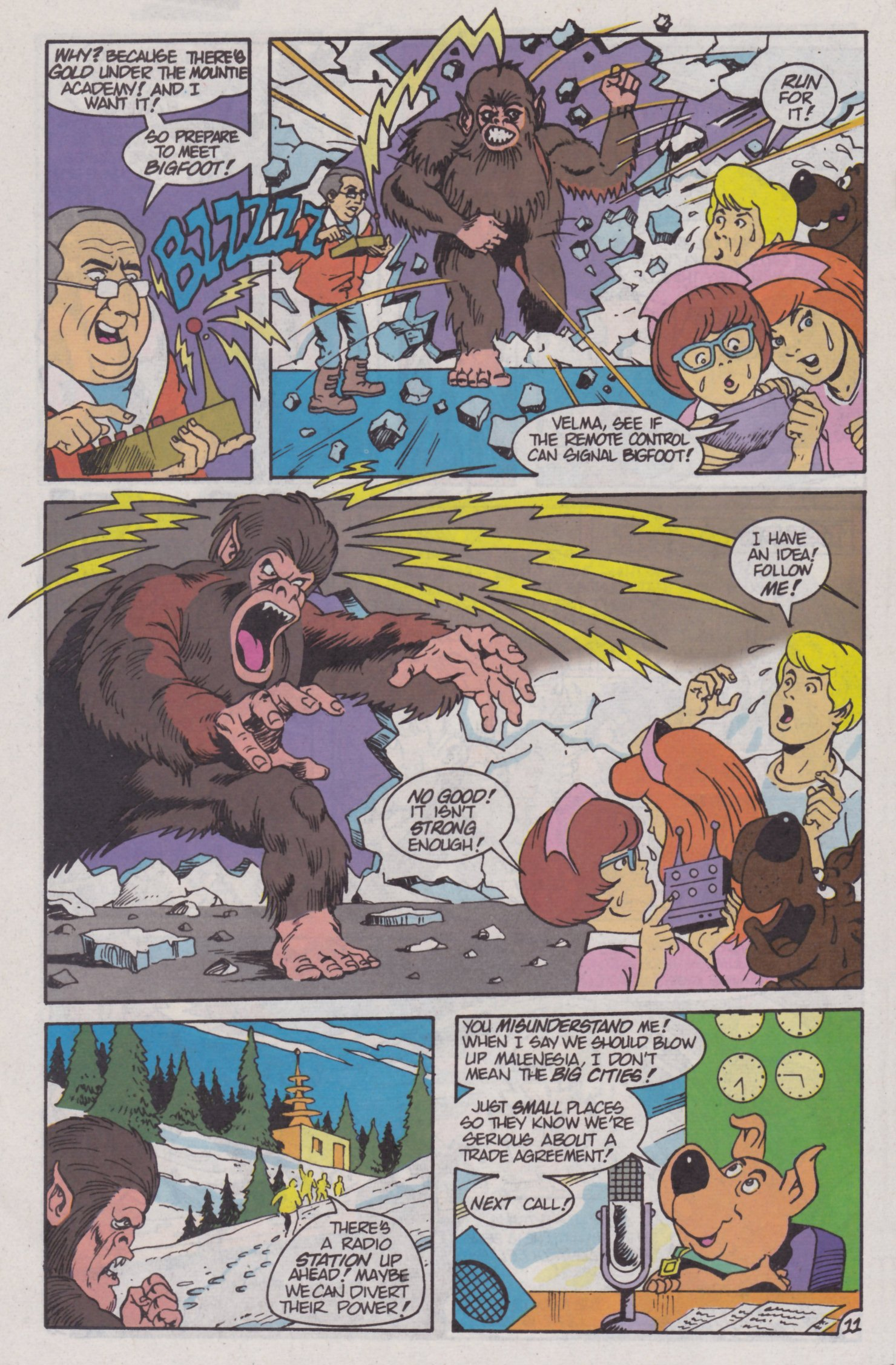Read online Scooby-Doo (1995) comic -  Issue #4 - 12