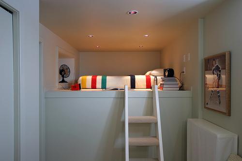 Fauna decorativa loft a dos niveles two floors loft for Pisos de 30 metros cuadrados ikea