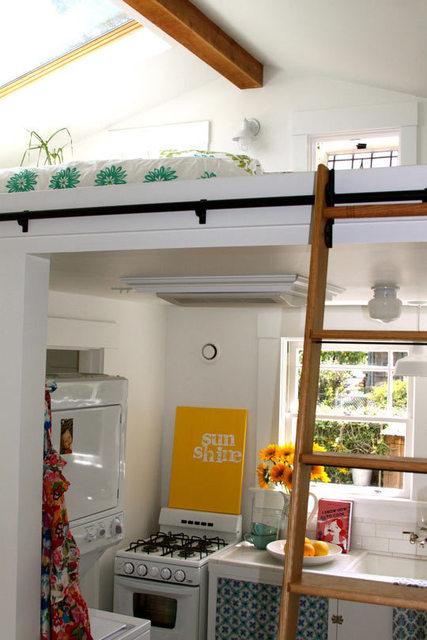 Fauna decorativa loft a dos niveles two floors loft for Loft de 40 metros cuadrados