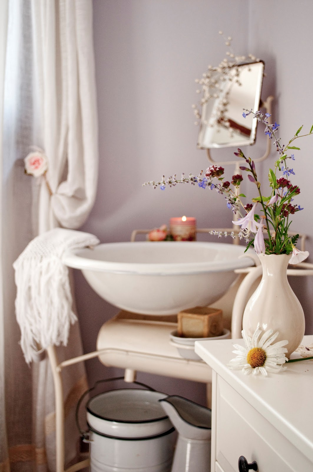 English cottage bathrooms - Country Cottage Bathroom Ba Os Estilo Shabby Chic Shabby Chic Bathrooms