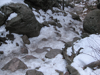Amphitheater Trail In Winter