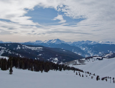 Flat Light In Vail's China Bowl