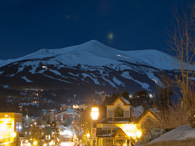 Breckenridge Peak 8 At Night