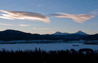 Dawn Over Dillon Reservoir