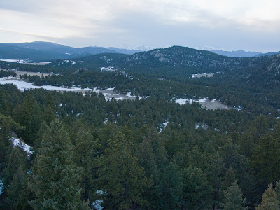 Three Sisters, View Towards Mount Evans