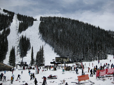 Loveland Ski Area, Sunny Base Area