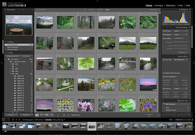Adobe Photoshop Lightroom 3 Screen Shot