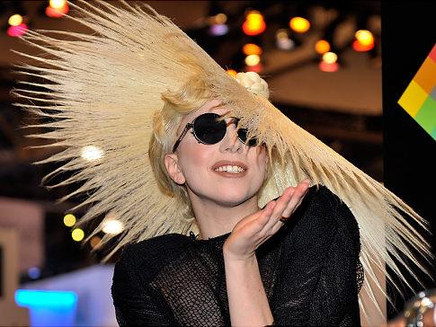 Philip Treacy Lady Gaga Hats. Lady Gaga as Philip Treacy#39;s