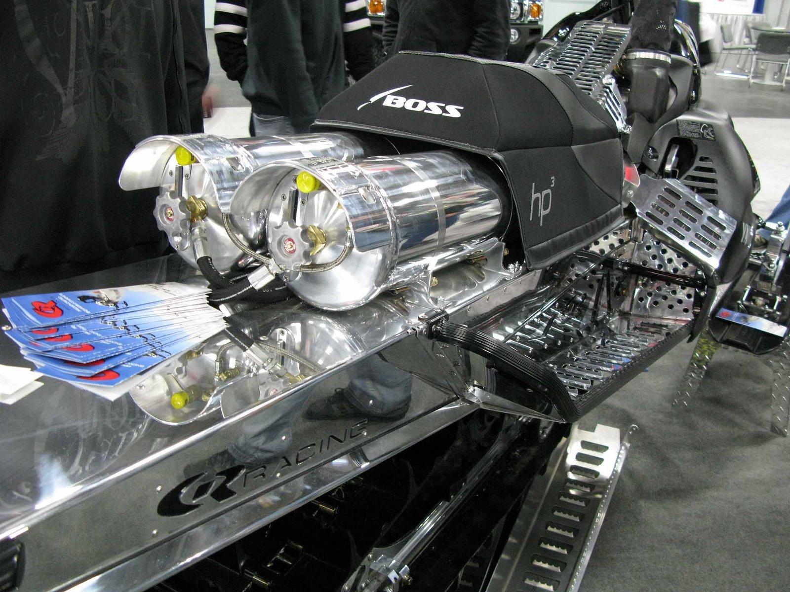 2 stroke 1200 cc turbo sled