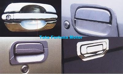 Chrome door handle for Avanza/Xenia, Taruna, Kijang New, Kijang Grand