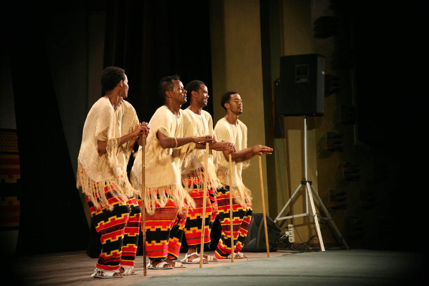 Ethiopian Culture Zone: Ethiopian traditional dance