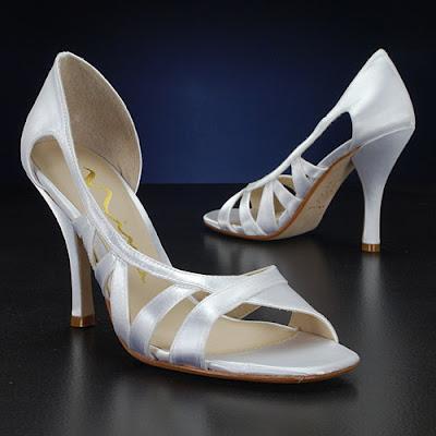 Nina Off White Bridal Shoe