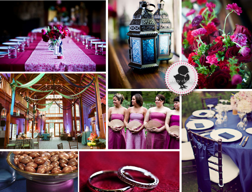 photo wedding decor color pink