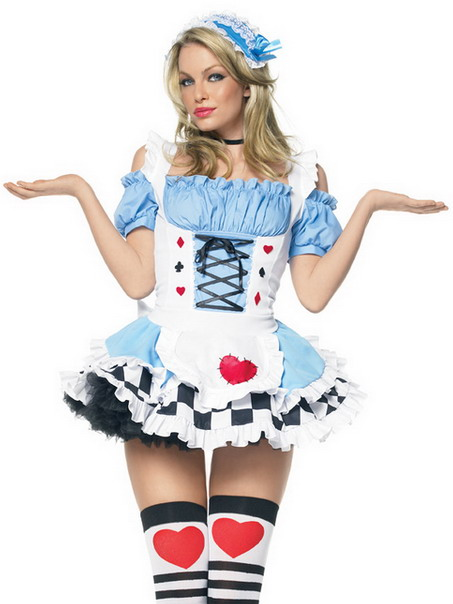 Fancy dress costume ideas for women on the right dressing