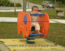 aksi si manja di playground