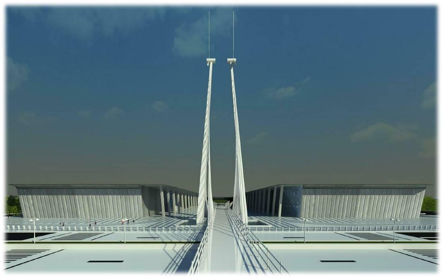 Exhibition Stand Floor Plans : Knowledge hub mahatma mandir gandhinagar