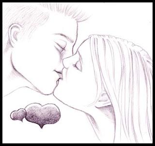 Foto Animasi Ciuman Lucu