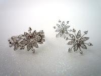 ジュエリーデザイナー西澤弘子「雪花」Collectionのご紹介をいたしました。