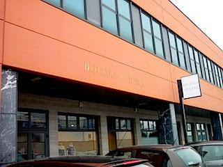 Vicenza にはBOTTEGA本社&Outlet storeです。
