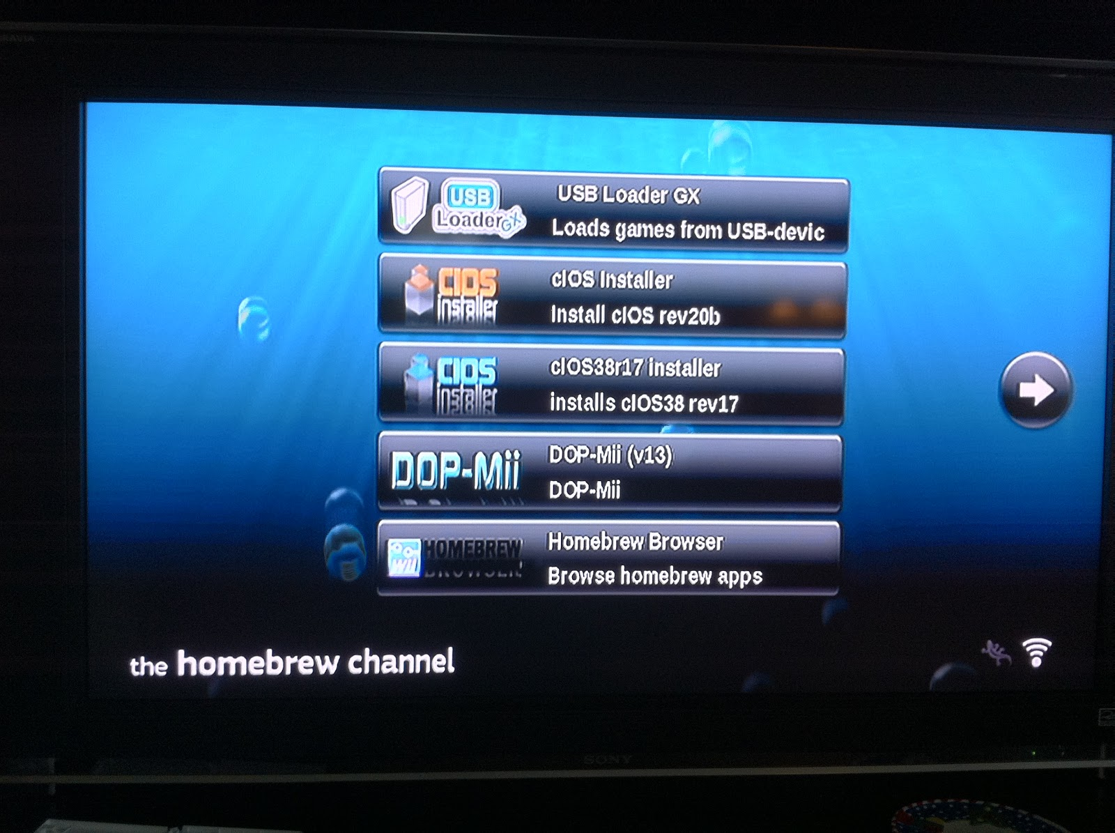 download usb loader gx homebrew browser
