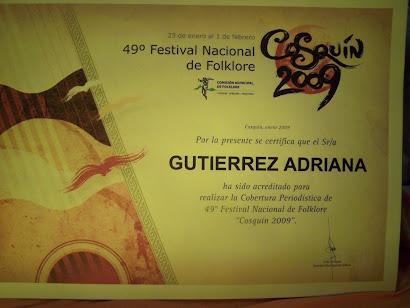 Adriana Gutiérrez (FM Punta Borja)