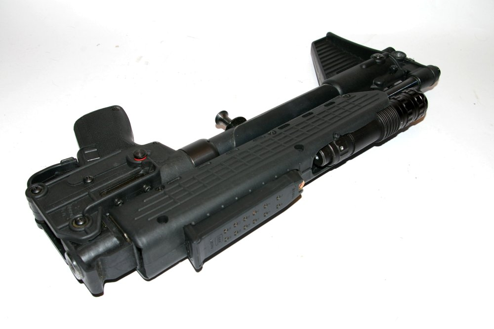 Keltec Sub40 SIght And Top Picatinny Rail Modification Inspiration Sub2000 Spare Magazine Holder