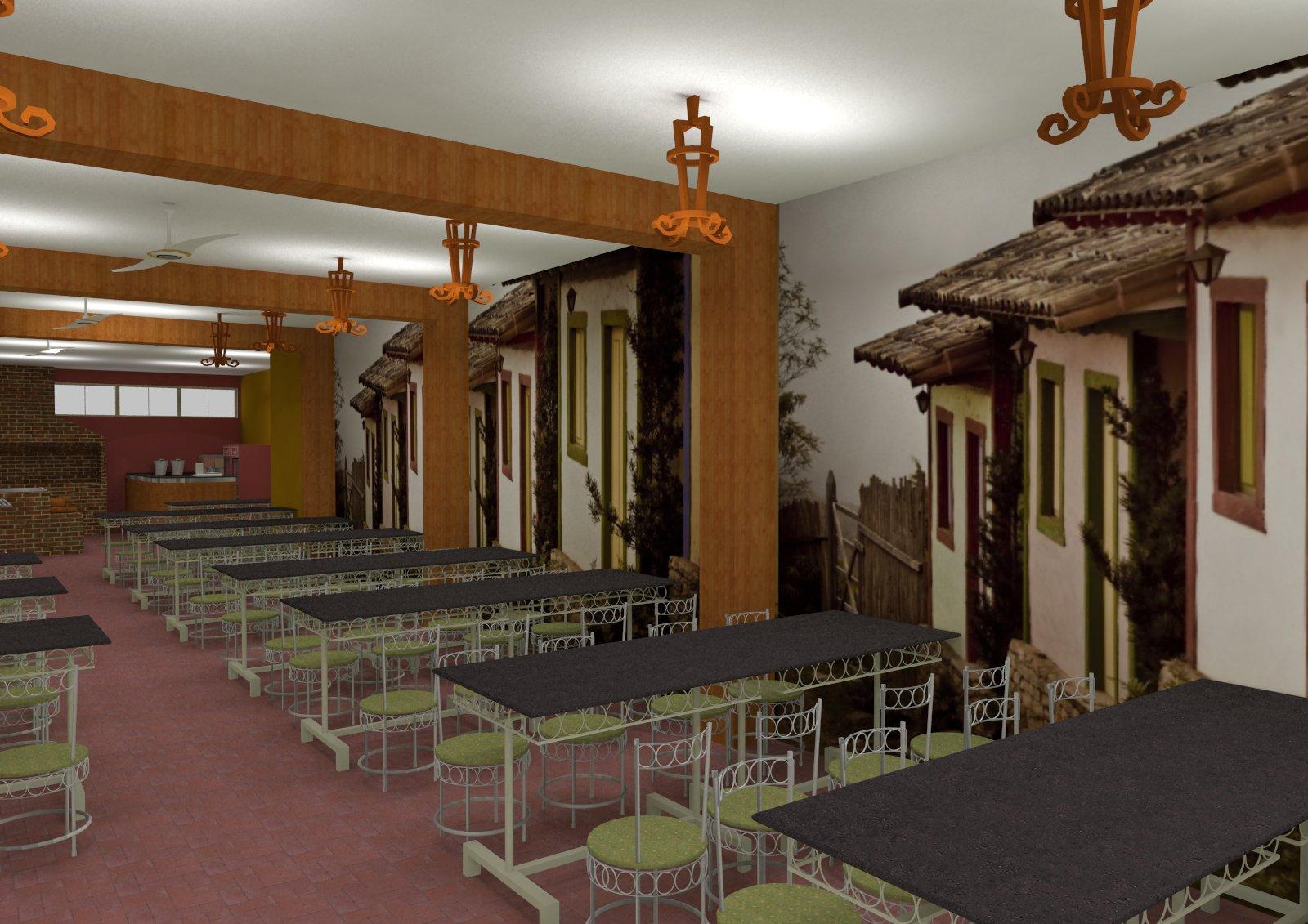 us Arquitetura: Restaurante Fogão a Lenha Inhapim MG. #B15C1A 1600 1131