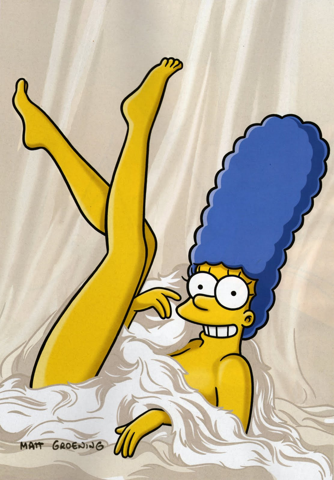 nude wallpapers simpson marge