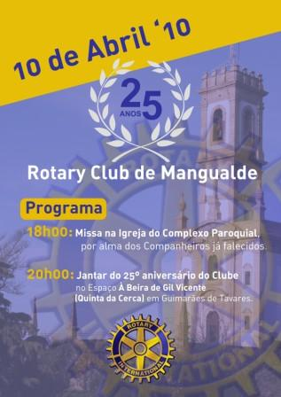 25º ANIVERSÁRIO RC MANGUALDE