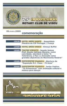 ROTARY CLUB VISEU - 75 ANOS