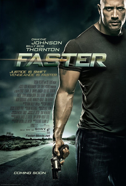 review faster movie 2010 starring dwayne johnson the rock and billy bob thornton