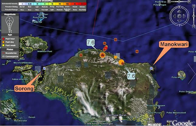 Gempa Sumatera Barat 7,6 Sr
