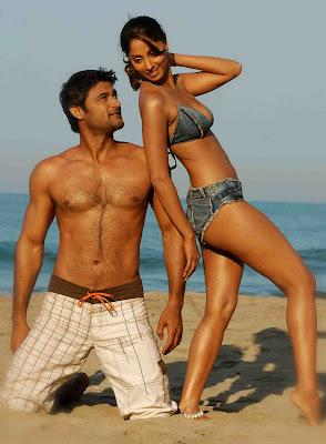 Sangeeta Ghosh Hot Bikini Stills From Movie 'Bhanvraa'