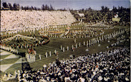 """Half Time Pageantry At The Famous Miami Orange Bowl"""