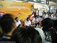 Datuk Azalina dalam Press Conference