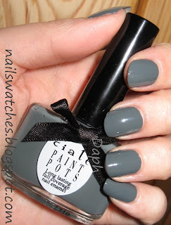 ciaté grey creme vintage nail polish nailswatches