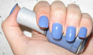 Orly Cashmere Cardigan Periwinkle Creme Nail Polish prepster spring 2009 lente nailswatches