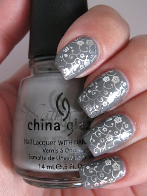 China Glaze Recycle Millennium Konad Konadicure imageplate M73 stamping nailart