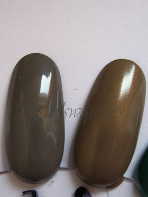 essie chinchilly clay-ton my hero catrice comparison nail polish