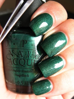 here today aragon tomorrow suede opi green nailpolish nailswatchtes htat