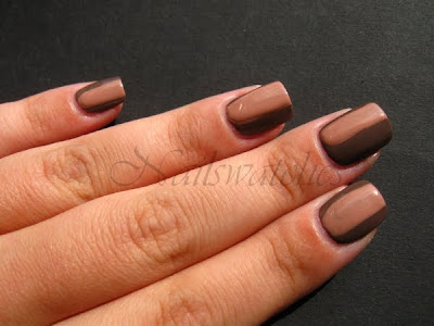 wic by herome johannesburg antwerp brown sandy taupe shimmer creme nail polish nailswatches